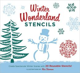Winter Wonderland Stencils: Create Spectacular Winter Scenes with 20 Reusable Stencils!