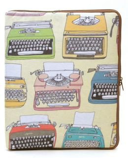 Julia Rothman Typewriter iPad Sleeve