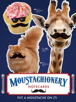 Moustachionery Notecard Set