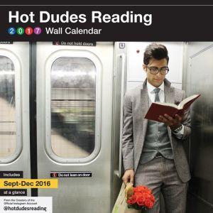 Hot Dudes Reading 2017 Wall Calendar
