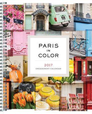 2017 Engagement Cal: Paris in Color