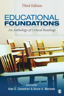 Educational Foundations: An Anthology of Critical Readings