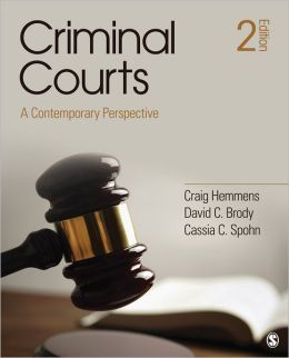 Criminal Courts: A Contemporary Perspective