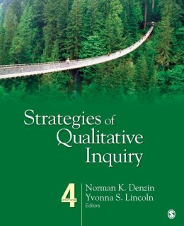 Strategies of Qualitative Inquiry