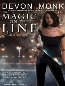Magic on the Line (Allie Beckstrom Series #7)