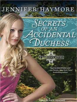 Secrets of an Accidental Duchess: Donovan Series, Book 2