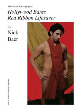 Male Nude Photography- Hollywood Bares Red Ribbon Lifesaver
