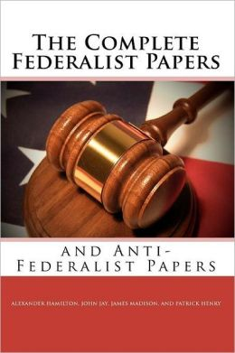 Federalist vs Anti-Federalist Worksheet