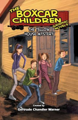 The Yellow House Mystery: The Boxcar Children Graphic Novels (Book Three)