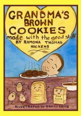 Grandma's Brown Cookies: Made with the Good Stuff