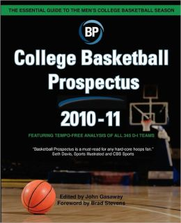 College Basketball Prospectus 2010-11
