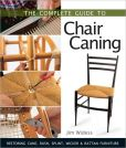Book Cover Image. Title: The Complete Guide to Chair Caning:  Restoring Cane, Rush, Splint, Wicker & Rattan Furniture, Author: Jim Widess