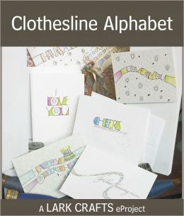 Clothesline Alphabet eProject from Hand Lettering (PagePerfect NOOK Book)