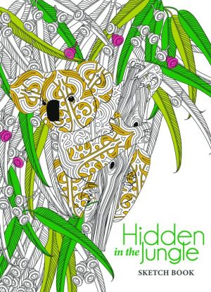 Hidden in the Jungle Sketch Book