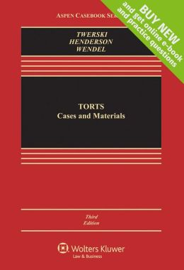 Torts: Cases and Materials