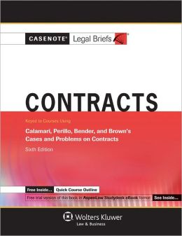 Contracts: Calamari, Perillo, Bender and Brown 6E