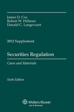 Securities Regulation 2012 Case Supplement