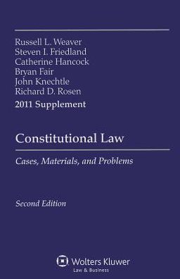Constitutional Law 2011 Supplement