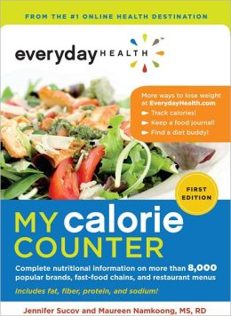 Everyday Health My Calorie Counter (PagePerfect NOOK Book)