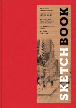 Sketchbook (Basic Medium Bound Red)