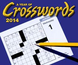 2014 A Year of Crosswords Calendar