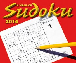 A Year of Sudoku 2014 Desk Calendar