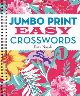 Jumbo PrintEasy Crosswords #1
