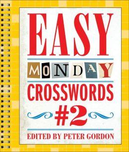 Easy Monday Crosswords #2