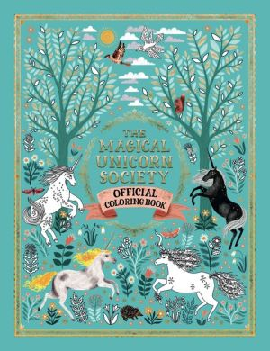 Book The Magical Unicorn Society Official Coloring Book