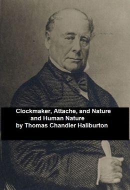 Thomas Chandler Haliburton: Three Books (Canadian)