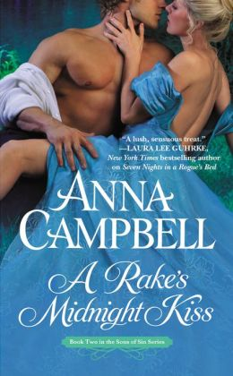 A Rake's Midnight Kiss (Sons of Sin Series #2)