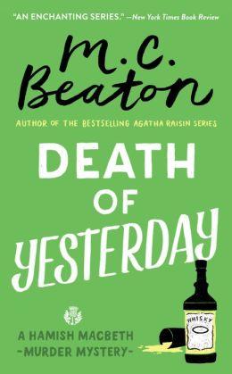 Death of Yesterday (Hamish Macbeth Series #28)