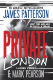 Book Cover Image. Title: Private London, Author: James Patterson