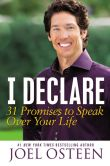 Book Cover Image. Title: I Declare:  31 Promises to Speak Over Your Life, Author: Joel Osteen