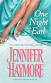 Book Cover Image. Title: One Night with an Earl, Author: Jennifer Haymore