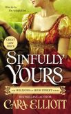 Book Cover Image. Title: Sinfully Yours, Author: Cara Elliott