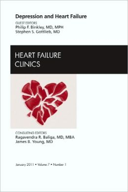 Depression and Heart Failure, An Issue of Heart Failure Clinics