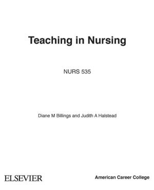Teaching in Nursing: A Guide for Faculty / Edition 4