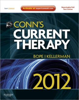 Conn's Current Therapy 2012: Expert Consult - Online and Print