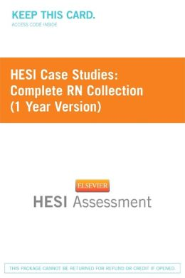 Hesi Case Study: RN 2012 Year