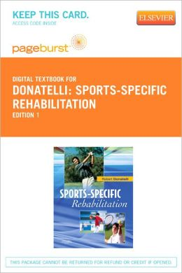 Sports-Specific Rehabilitation - Pageburst Digital Book (Retail Access Card)