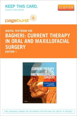Current Therapy In Oral and Maxillofacial Surgery - Pageburst Digital Book (Retail Access Card)