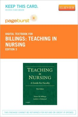 Teaching in Nursing - Pageburst Digital Book (Retail Access Card): A Guide for Faculty