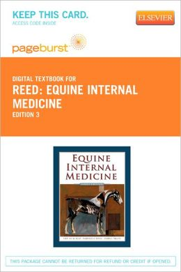 Equine Internal Medicine - Pageburst Digital Book (Retail Access Card)