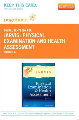 Physical Examination and Health Assessment - Pageburst Digital Book (Retail Access Card)