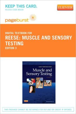 Muscle and Sensory Testing - Pageburst Digital Book (Retail Access Card)