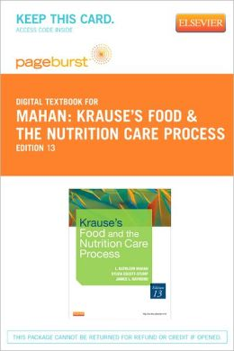 Krause's Food & the Nutrition Care Process - Pageburst Digital Book (Retail Access Card)