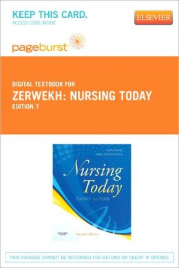 Nursing Today - Pageburst Digital Book (Retail Access Card): Transition and Trends
