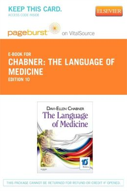 The Language of Medicine - Pageburst E-Book on VitalSource (Retail Access Card)