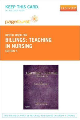 Billings - Teaching in Nursing: A Guide for Faculty